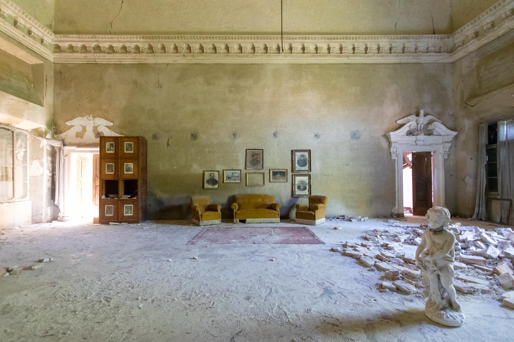 Préservation, restauration et conservation des bâtiments abandonnés