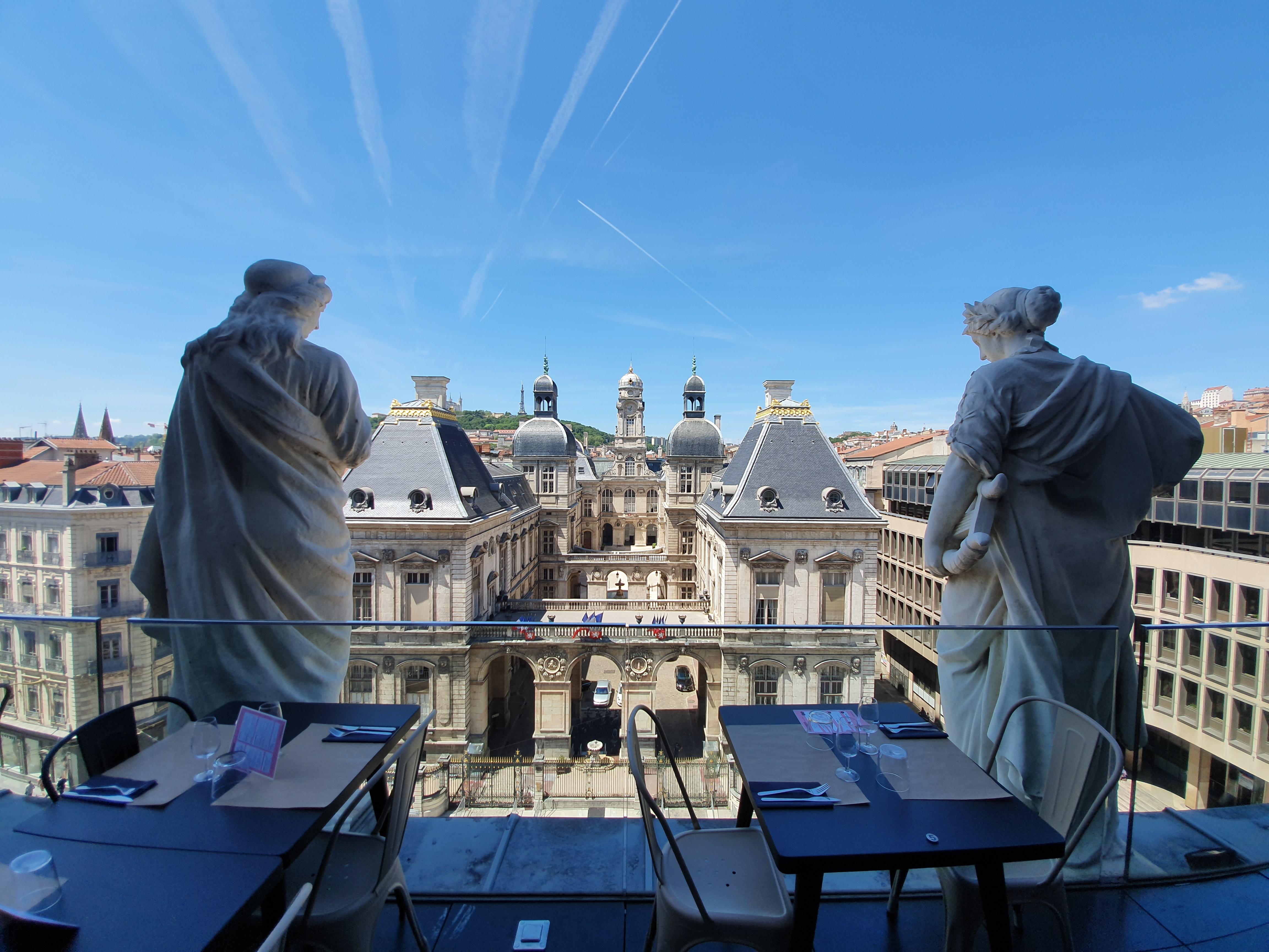 meilleures terrasses Lyonnaises dans le centre